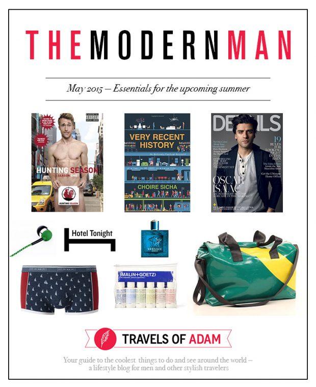 Modern Man - Summer 2015 Lifestyle Essentials
