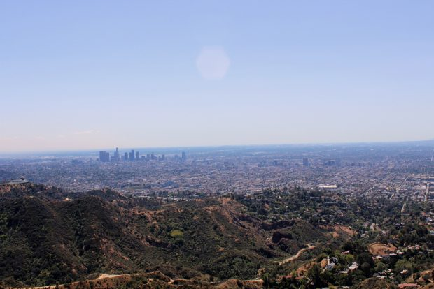 that los angeles skyline