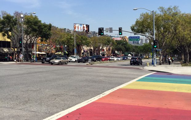 Santa Monica Boulevard - West Hollywood