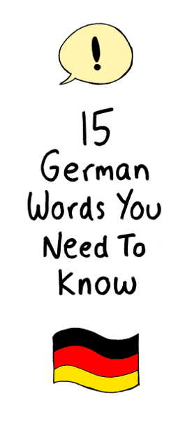 15 German Words You Need to Know
