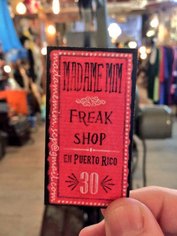Madame Mim Freak Shop
