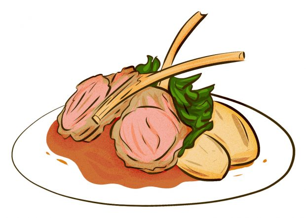 Lamb Scottaditto (Rome) - Meat & Potatoes - Dishes from 14 Cities Around the World