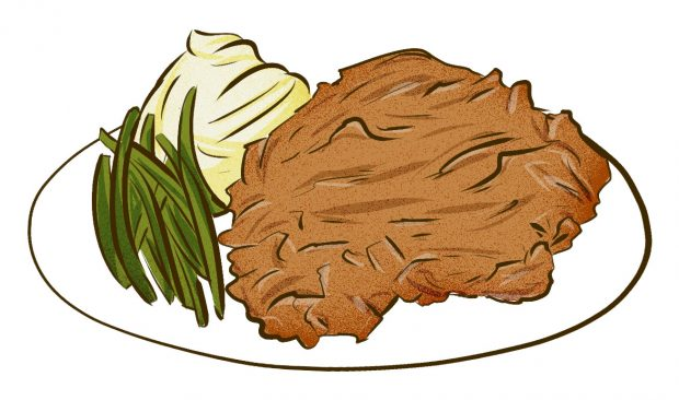 Chicken Fried Steak (Dallas, Texas) - Meat & Potatoes - Dishes from 14 Cities Around the World