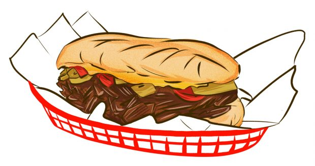 Italian Beef Sandwich (Chicago) - Meat & Potatoes - Dishes from 14 Cities Around the World