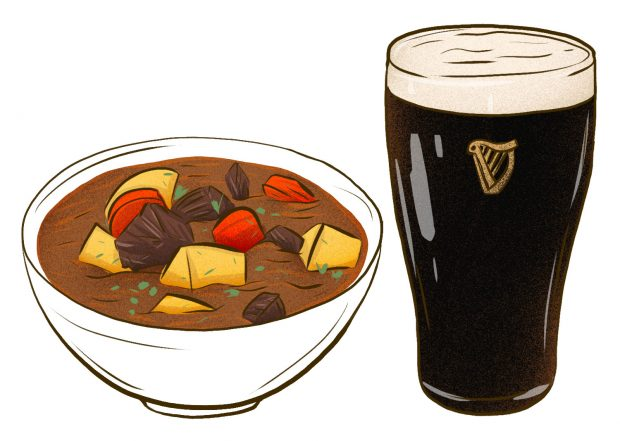 Guinness Beef Stew (Dublin) - Meat & Potatoes - Dishes from 14 Cities Around the World