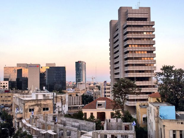 View from Abraham Hostel Tel Aviv