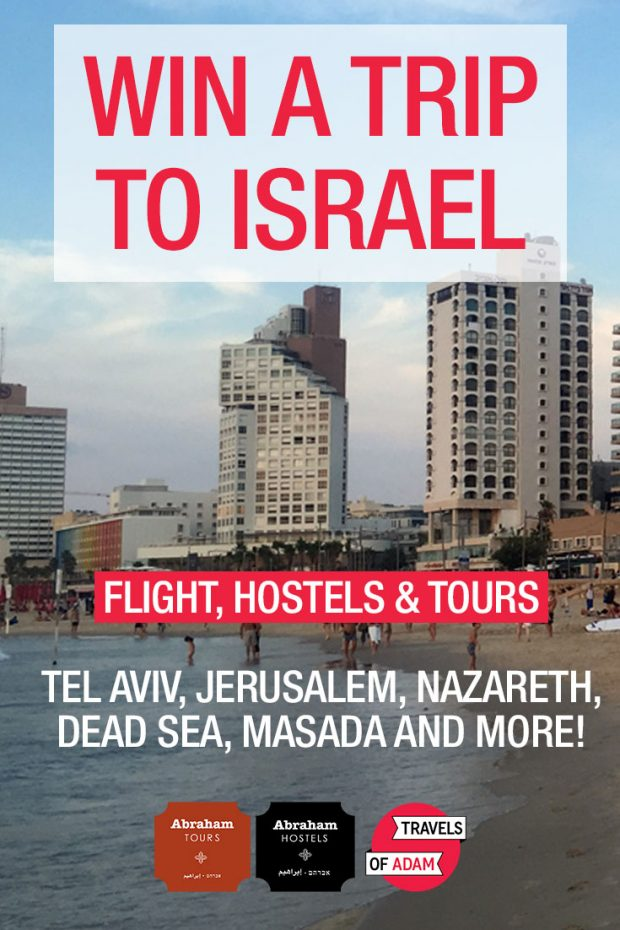 Win a trip to Israel