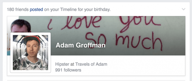 Adam Groffman - Facebook - https://facebook.com/agroffman/