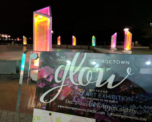 Georgetown GLOW 2016 Photos - https://travelsofadam.com/2016/12/georgetown-glow/