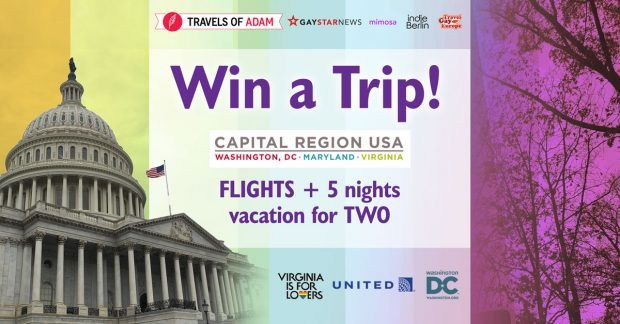 Win A Romantic Holiday to Washington, D.C. and Virginia - http://contest.travelsofadam.com/winvirginia/
