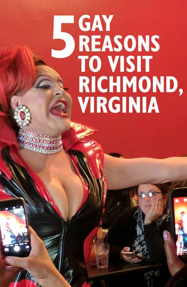 5 Gay Reasons to Visit Richmond, Virginia - Travels of Adam - https://travelsofadam.com/2017/03/gay-richmond-virginia/