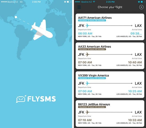 FLYSMS Review - Travel App for Easy Flight Notifications - Travels of Adam - https://travelsofadam.com/2017/03/flysms-app-review/
