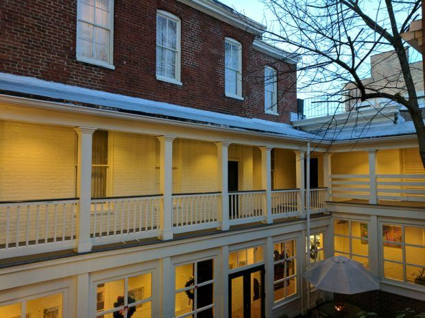 Lost in Time at the Linden Row Inn - Travels of Adam - https://travelsofadam.com/2017/03/linden-row-inn-rva/
