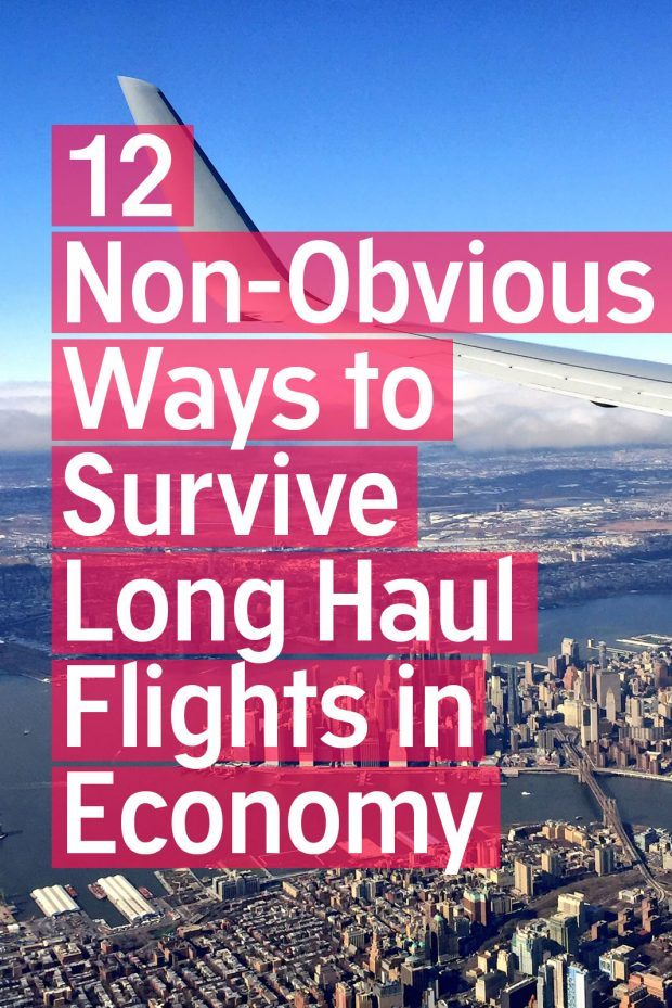 12 Non-Obvious Ways to Survive Long Haul Flights in Economy - Travels of Adam - https://travelsofadam.com/2017/04/long-haul-flights-economy/