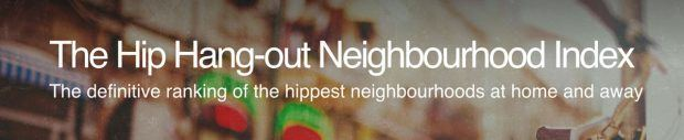 Hip Hang-out Neighbourhood Index