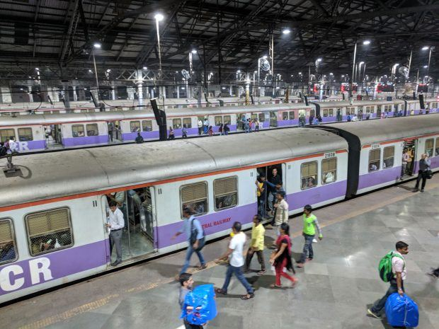 Mumbai public trains