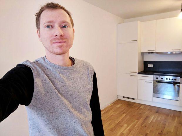 empty berlin apartment