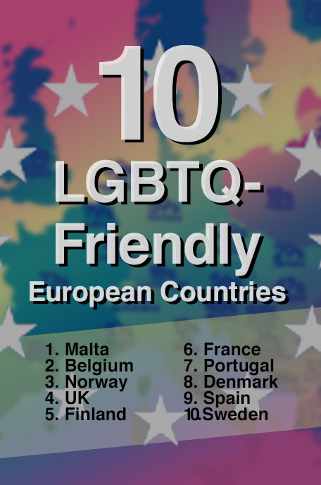 LGBT Friendly Countries in Europe