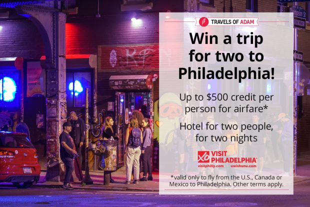 win a trip to Philly