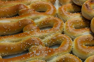 philly famous food - pretzel