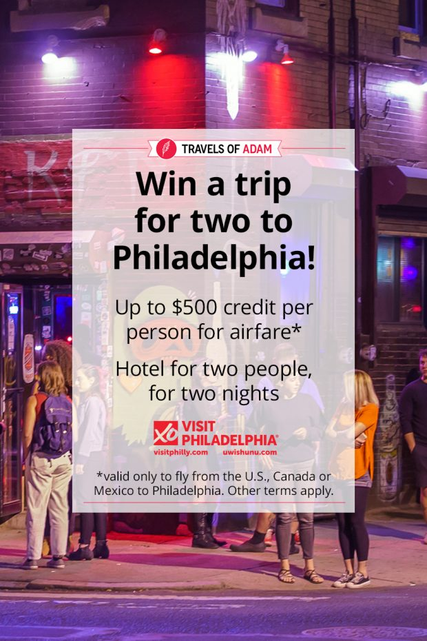 Win a trip to Philadelphia!