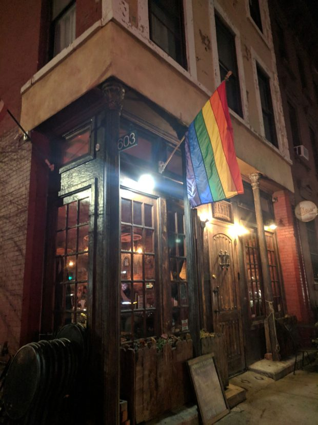 Branded Saloon gay bar Brooklyn