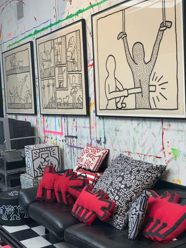 Keith Haring NYC studio