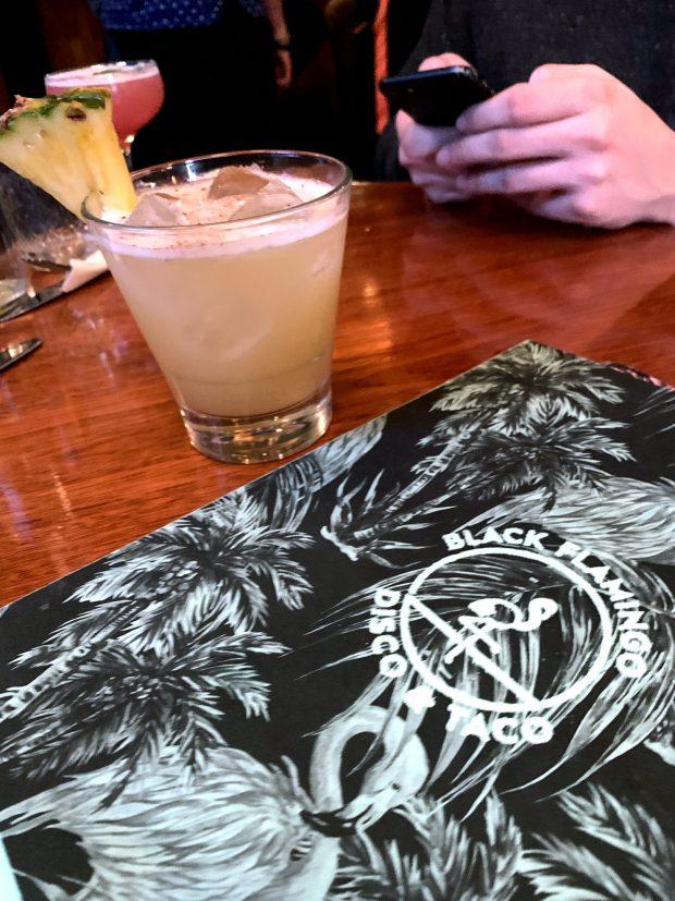 black flamingo vegan bar & restaurant in brooklyn
