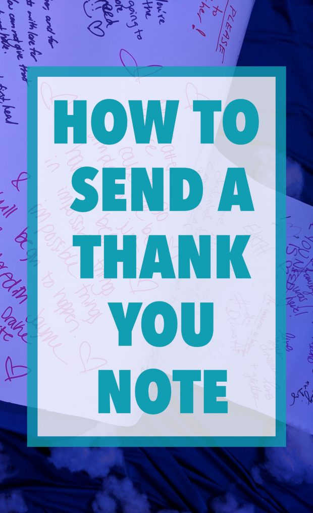 How to Send a Thank You Note