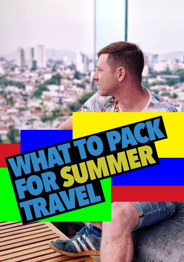 What to pack for summer travel