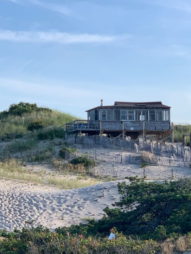 The Provincetown sand dunes