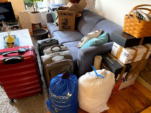 packing for a move to a new city